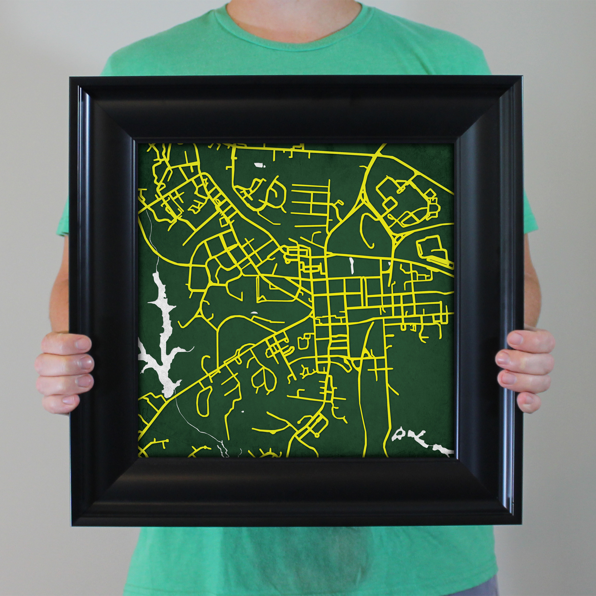 William Mary The College Of Campus Map Art City Prints